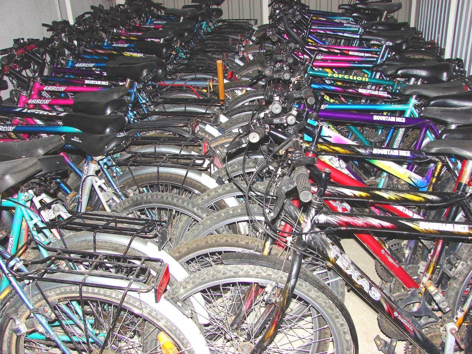 Kerékpárok /nap